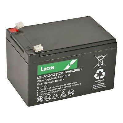 OD 6-DW-12, 12 Volt Sealed Replacement Battery Lucas • 126.95£