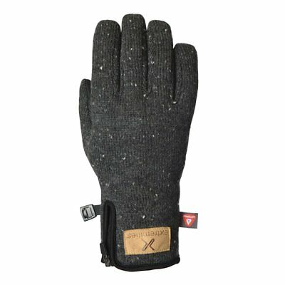 Extremities Furnace Wool Mix Insulated Waterproof Gloves - Dark Grey Marl • 33.96£