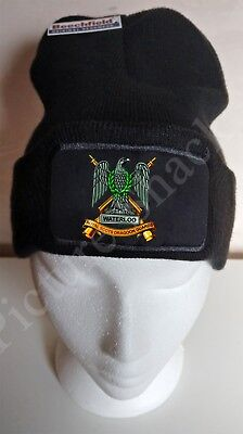 Royal Scots Dragoon Guards Cap Badge Printed On A Beanie Hat / Cap.  • 14.99£