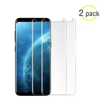 $ CDN10.32 • Buy Samsung Galaxy S9 S8 Plus Note 9/8 4D Full Cover Tempered Glass Screen Protector