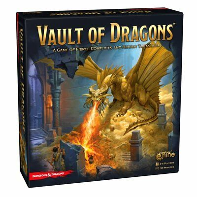 AU79.95 • Buy Dungeons & Dragons Vault Of Dragons Board Game NEW