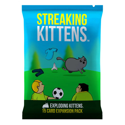 AU16.95 • Buy Exploding Kittens Streaking Kittens Expansion Card Game NEW