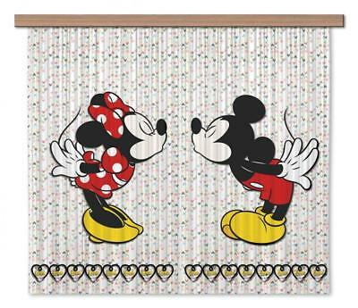 Disney AG Design Curtains Mickey Mouse Kids 3D Photo Print Kids Curtains Bedroom • 44.44£