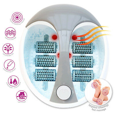 Rio Foot Spa And Bath With Roller Massager Hydro Jets Vibration Massage Diffuser • 39.99£