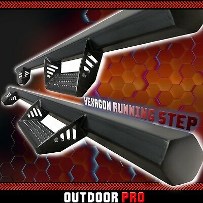 $199.95 • Buy Fit 99-15 Ford F-250 SD Crew Cab HEX Running Boards Nerf Bars Dropped Side Step