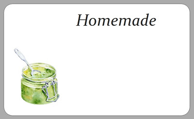 Homemade Preserves Chutney Stickers Jam Pot Jar Labels Space For Own Writing • 2.50£