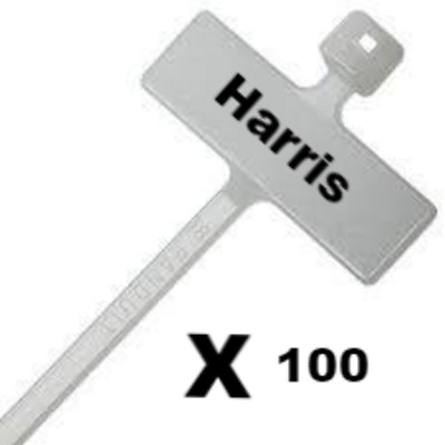 £8.72 • Buy Cable Ties Marker Write On White Labels - Wire Power Tags Marks  Wire Strap Mct1