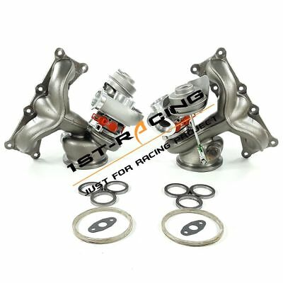 $ CDN1461.67 • Buy 700HP Twin Turbos TD04L 17T Billet 6+6 State 3 For BMW E90 E92 E93 135i 335i N54
