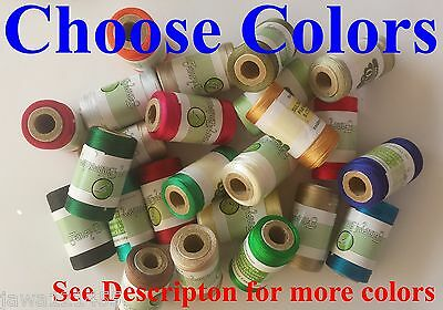 £15.99 • Buy Embroidery Thread Spools For Machines Brother,Janome, Singer More, Choose Colors