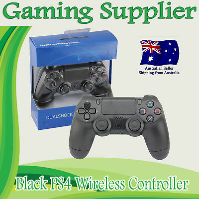 AU54.99 • Buy Playstation 4 Controller DualShock Wireless For Sony PS4 Gamepad BLACK V2 MELBOU