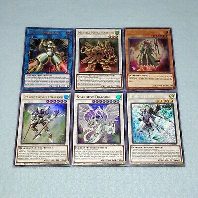 Yugioh Yusei Fudo Stardust Dragon Assault Warrior Junk Speeder Deck 6 Card Set • 5.72£