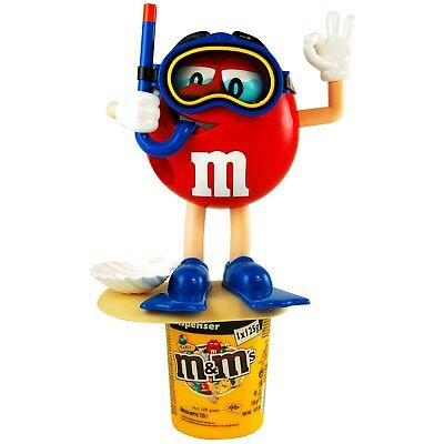£25.52 • Buy  M&M's Dispenser RED   Diver   11 Inch , New With 125g Peanut Chocolate