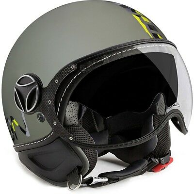 892638c4ed50e Casco Moto Jet Momo Design Fighter 1001003035 Nero Mimetico • 158.90€