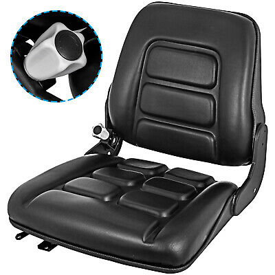 AU123.93 • Buy Tractor Suspension Forklift Seat Chair W/Auto Lock Industrial Armrest For Bobcat