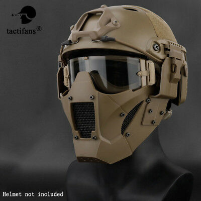 $24.50 • Buy Tactical Airsoft Half Face Paintball Mask Military Army Steel Mesh Adjustable