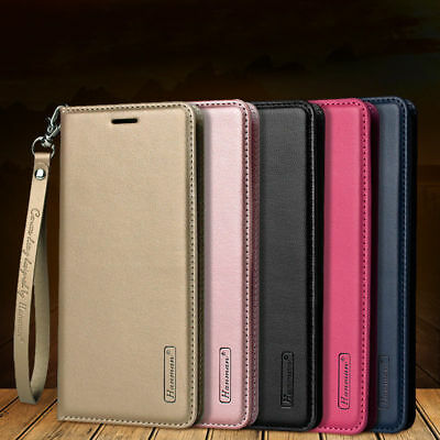 $ CDN9.33 • Buy For Samsung Note 9 S9 S8 Plus S7 Magnetic Flip Leather Wallet Stand Case Cover