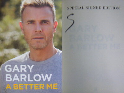 Signed Book A Better Me : The Autobiography By Gary Barlow Hdbk 1st Edition 2018 • 26.99£