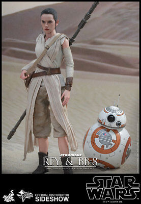 $ CDN465.95 • Buy Star Wars Collectible 11 Inch Figure MMS - Rey And BB-8 Set Hot Toys 902612