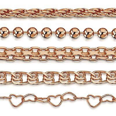 Amberta Genuine Rose Gold Plated On 925 Sterling Silver Bracelet Bangle Italy • 6.89£