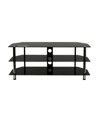 AU99 • Buy TV Stand Entertainment Unit Cabinet 1200mm Black And Silver