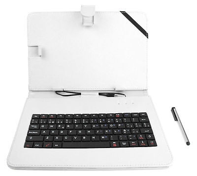 £12.99 • Buy QWERTY Case W/ Keyboard For Polaroid Tablet Pearl / Infinite / Platinum 10.1