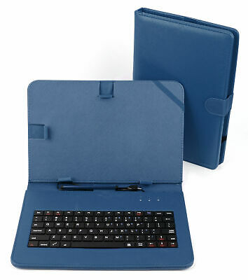PU Leather Case W/ Micro USB Keyboard For Samsung Galaxy Note 10.1 / Tab 4 10.1 • 16.99£