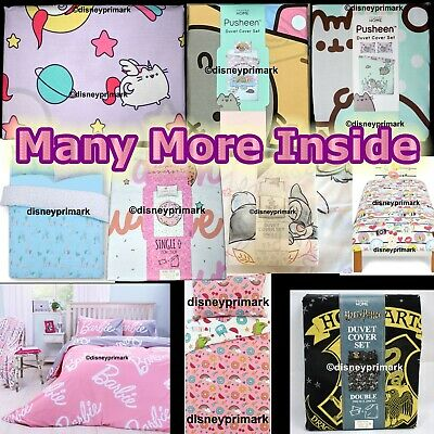 Official Character DUVET COVER SETS Junior/Single/Double/King Cat Pusheen Potter • 19.97£