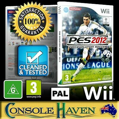 AU37.90 • Buy (Wii Game) Pro Evolution Soccer 2012 / PES 12 2K12 (G) (Sports) PAL, Guaranteed