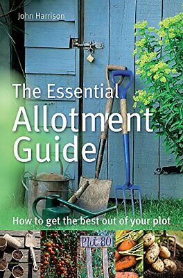 Essential Allotment Guide By John Harrison New Paperback / Softback Book • 6.58£