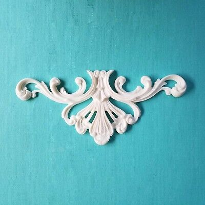 AU13.45 • Buy 1x Shabby Chic Furniture Applique Onlay Decorative Appliques