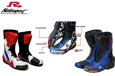 £92.07 • Buy Motorcycle Boots Motorbike Sports Racing Track Road Shoes For BMW