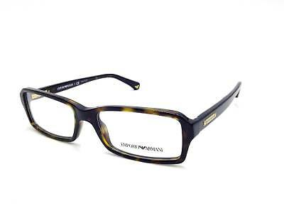 52cb13bf89  350 Emporio Armani Mens Brown Eyeglasses Frames Glasses Optical Lenses Rx  3007 • 52.16