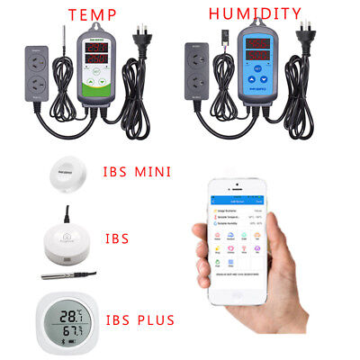 AU39.99 • Buy INKBIRD Temp And Humidity Controller Home Brewing Sensor Data Logger Recorder AU