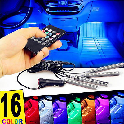 $11.53 • Buy 48 LED Car Charge Interior Accessories Floor Decorative Atmosphere Lamp Light