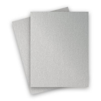 A3/A4/A5/A6 Silver Metallic Card 340gsm Paper Card Double Sided 10 To 250 Sheets • 0.99£