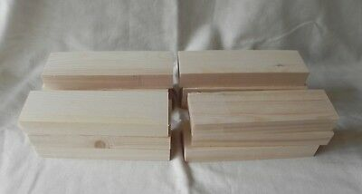 15 Pieces  Rustic Off Cuts Wood - Art Plaque Blanks Craft Woodwork • 9.99£