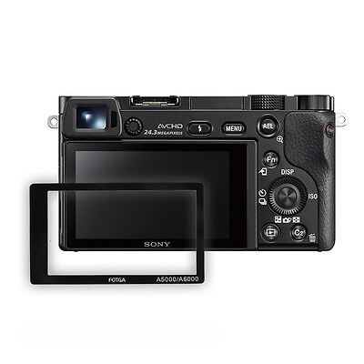 AU3.86 • Buy FOTGA Optical Glass LCD Screen Protector For Sony Alpha A5000/A6000 Camera