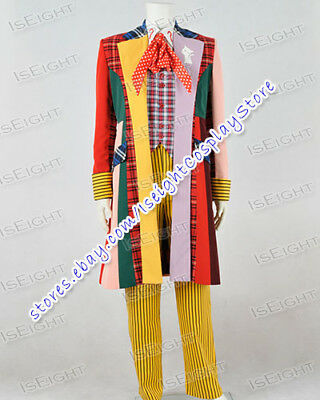 £139.99 • Buy Doctor Brown Who Dr Lattice Stripe Cosplay Costume Various Styles Available