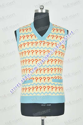 £29.99 • Buy Who Buy The Doctor The Seventh Doctor 7th Dr Cosplay Costume Male Vest Clothing