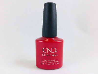 AU35.12 • Buy CND Shellac UV LED Gel Nail Polish - 'Wildfire' 7.3 ML (BRAND NEW With NO BOX)