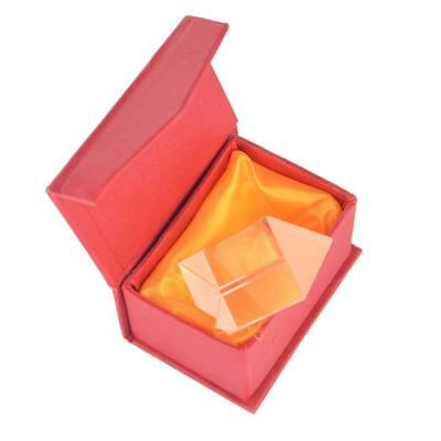 $10.80 • Buy 2 / 50mm Optical Glass Triangular Prism Triple Prism For Teaching Photography