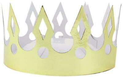 £5.99 • Buy Amscan International Gold Crowns Party Hats Pack Of 8