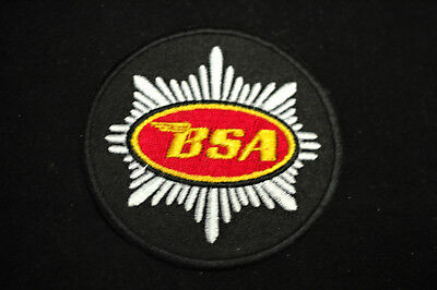 Classic BSA Motorcycle Tank Badge - Iron/Sew On Patch - No965 • 2£