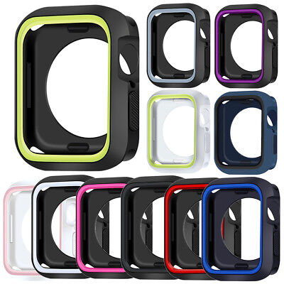 $ CDN5.79 • Buy Protective Case Watch Watch Cover For Apple Watch Series 4 3 2 1 40/44mm 38/42m