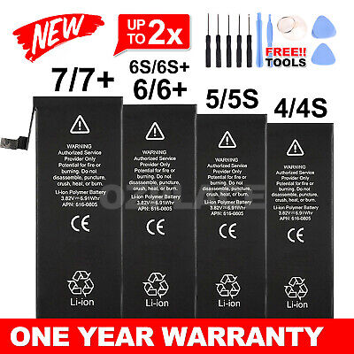 AU15.85 • Buy NEW High Capacity OEM Battery Replacement For IPhone 5 5C 5S 6 6S 7 Plus