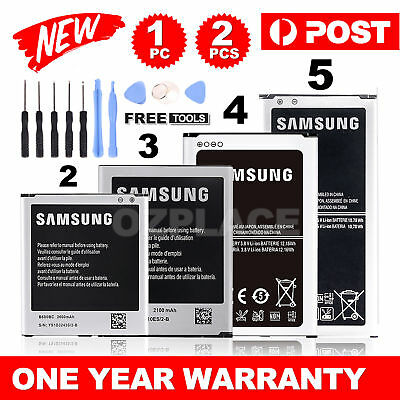 AU11.95 • Buy New Premium OEM Li-ion Replacement Battery For Samsung Galaxy S3 S4 S5 Note 3 4