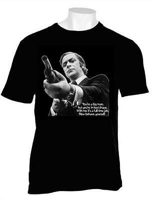 Mens Iconic Film Tshirt Get Carter Michael Caine Gangster Jack Carter Free Post • 9.97£