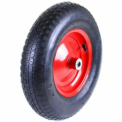 £14.99 • Buy 16  Pneumatic Wheelbarrow Wheel Inflatable Tyre 4.80/4.00-8 Spare Replacement