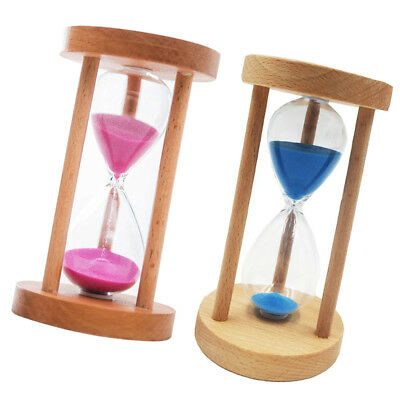 AU23.07 • Buy 2pcs 15 Mins Vintage Hourglass Sand Timer Sandglass Clock Home Table Decor