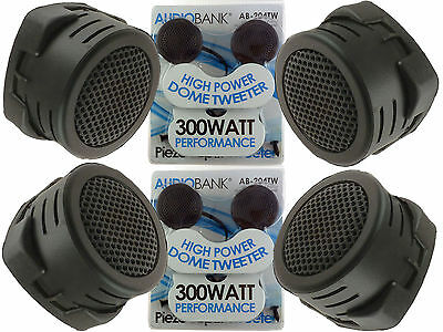 $ CDN12.91 • Buy 2 Pairs Of  New Model 600W Total Super High Frequency Mini Car Tweeters USA Ship